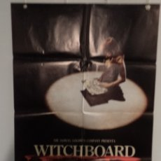 Cine: WITCHBOARD (JUEGO DIABÓLICO) - TODD ALLEN - TAWNY KITAEN - DIRECTOR KEVIN S. TENNEY. Lote 155666786