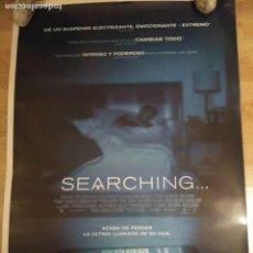 Cine: SEARCHING - APROX 70X100 CARTEL ORIGINAL CINE (L62). Lote 155688342