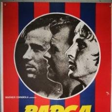 Cine: BARÇA - 75 AÑOS DE HISTÓRIA F.C. BARCELONA. 1976 - CARTEL 70 X 100. Lote 155777484