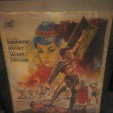 Cinema: LOS GLADIADORES CARTEL ORIGINAL 1965 ILUSTRADO POR JANO 1X70. Lote 155840392