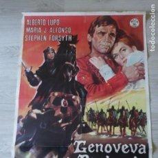 Cine: CARTEL GENOVEVA DE BRABANTE 70 X 100 CM APROX (ORIGINAL). Lote 155938650