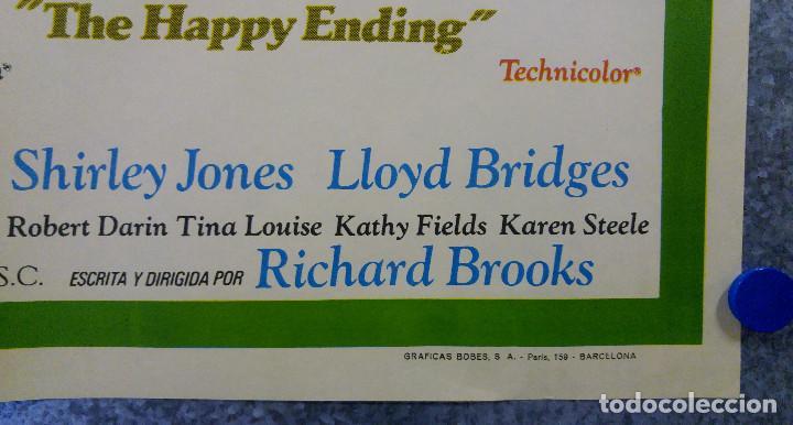Cine: Con los ojos cerrados. Jean Simmons, John Forsythe, Lloyd Bridges. AÑO 1971. POSTER ORIGINAL - Foto 6 - 155952150