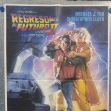 Cine: REGRESO AL FUTURO II. MICHAEL J. FOX. AÑO 1989. POSTER ORIGINAL.. Lote 155959594