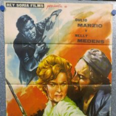 Cine: MISION INFERNAL. DULIO MARZIO, NELLY MEDENS . AÑO 1962. POSTER ORIGINAL . Lote 155992066