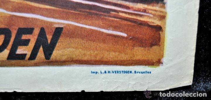 Cine: POSTER ORIGINAL DE 1957, LA BLONDE DES TROPIQUES, CELIA CORTEZ, ARMAND BERNARD, ETC - Foto 9 - 47595371