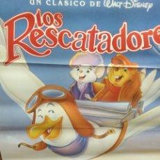 Cine: CARTEL LOS RESCATADORES. Lote 156258640