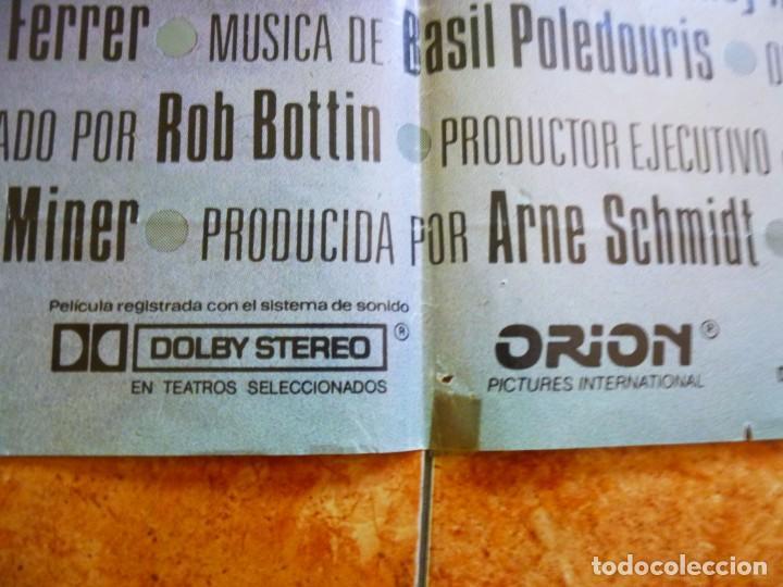 Cine: Cartel de cine película Robocop original de época - Foto 2 - 156520322