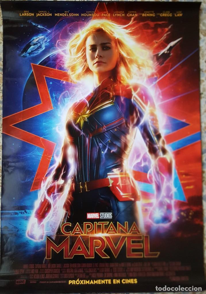 PÓSTER ORIGINAL CAPITANA MARVEL (Cine - Posters y Carteles - Acción)
