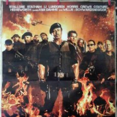 Cine: ORIGINALES DE CINE: LOS MERCENARIOS 2 (SYLVESTER STALLONE, JASON STATHAM, DOLPH LUNDGREN) 70X100. Lote 156772782