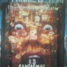 Cine: CINE - 13 FANTASMAS - THIRTEEN GHOSTS - CARTEL PÓSTER ORIGINAL DE LA PELÍCULA. Lote 156838730
