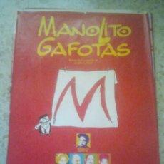 Cine: CINE - MANOLITO GAFOTAS - CARTEL PÓSTER ORIGINAL DE LA PELÍCULA. Lote 156850206