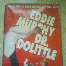 Cine: CINE - DR. DOLITTLE - CARTEL PÓSTER ORIGINAL DE LA PELÍCULA - VERSIÓN DIFÍCIL, ÚNICO EN TC. Lote 156852206