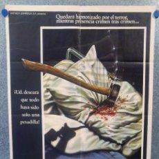 Cine: VIERNES 13. BETSY PALMER, ADRIENNE KING. AÑO 1980. POSTER ORIGINAL. Lote 156869090