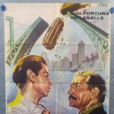 Cine: DOCK SUR. NELLY PANIZZA, MARIO PASSANO. AÑO 1963 POSTER ORIGINAL. ILUSTRADO A. PERIS. Lote 156881918