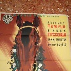 Cine: A RIENDA SUELTA SHIRLEY TEMPLE POSTER. Lote 156913670