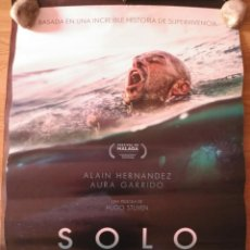 Cine: SOLO - APROX 70X100 CARTEL ORIGINAL CINE (L63). Lote 156915914