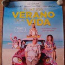 Cine: EL MEJOR VERANO DE MI VIDA - APROX 70X100 CARTEL ORIGINAL CINE (L63). Lote 156916090
