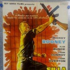 Cine: SILLA ELÉCTRICA PARA OCHO HOMBRES. MICKEY ROONEY. AÑO 1962 POSTER ORIGINAL. Lote 157009126