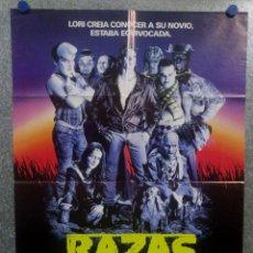 Cine: RAZAS DE NOCHE. CRAIG SHEFFER, ANNE BOBBY, DAVID CRONENBERG. AÑO 1990. POSTER ORIGINAL. Lote 157016702
