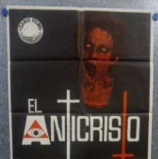Cine: EL ANTICRISTO. CARLA GRAVINA, MEL FERRER, ARTHUR KENNEDY. AÑO 1975. POSTER ORIGINAL. Lote 157017542
