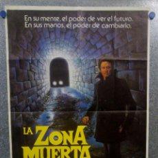 Cine: LA ZONA MUERTA. CHRISTOPHER WALKEN, MARTIN SHEEN, BROOKE ADAMS. POSTER ORIGINAL. Lote 157019462