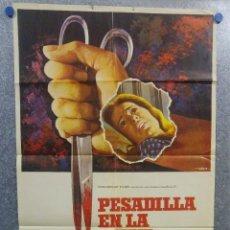 Cine: PESADILLA EN LA NIEVE. PATTY DUKE, ROSEMARY MURPHY, RICHARD THOMAS AÑO 1973 - POSTER ORIGINAL. Lote 157025570