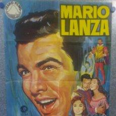 Cine: EL GRAN CARUSO. MARIO LANZA, ANN BLYTH, DOROTHY KIRSTEN AÑO 1970 - POSTER ORIGINAL. Lote 157027694