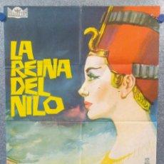 Cine: LA REINA DEL NILO. JEANNE CRAIN, VINCENT PRICE, EDMUND PURDOM AÑO 1962. POSTER ORIGINAL. Lote 157292366
