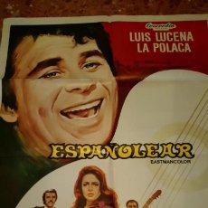 Cine: CARTEL ORIGINAL ESPAÑOLAR 1969. Lote 157370558