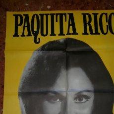 Cine: PAQUITA RICO 70 X100. Lote 158296396