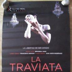 Cine: OPERA: LA TRAVIATA - APROX 70X100 CARTEL ORIGINAL CINE (L63). Lote 158333206
