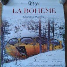 Cine: OPERA: LA BOHEME - APROX 70X100 CARTEL ORIGINAL CINE (L63). Lote 158333458