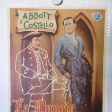Cine: CARTEL LITOGRAFICO - THE TIME OF THEIR LIVES. Lote 158203282