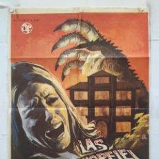 Cine: LAS GARRAS DE LORELEI - POSTER CARTEL ORIGINAL CINE - HELGA LINE AMANDO DE OSSORIO SILVIA TORTOSA. Lote 158561794