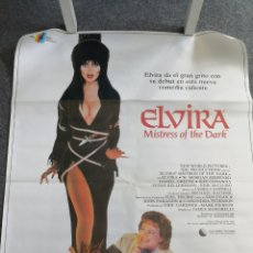 Cine: POSTER DE CINE ORIGINAL DE ELVIRA MISTRESS OF THE DARK. Lote 158596190