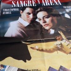 Cine: PACK DE LA PELÍCULA SANGRE Y ARENA DE SHARON STONE. Lote 158600841