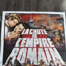 Cine: PACK LA CAÍDA DEL IMPERIO ROMANO DE SAMUEL BRONSTON. Lote 158601613