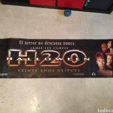 Cine: CARTEL APAISADO DE HALLOWEEN H20 177X49. Lote 158641500