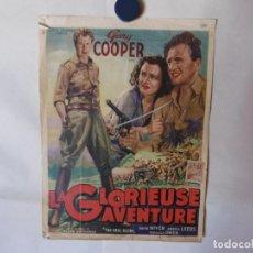 Cine: CARTEL LITOGRAFICO - LA JUNGLA EN ARMAS. Lote 158642174