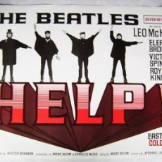 Cine: THE BEATLES, HELP, DE RICHARD LESTER. 68,5 X 96 CMS.. Lote 158649006