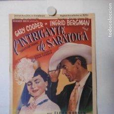 Cine: CARTEL LITOGRAFICO - LA EXOTICA. Lote 158651022