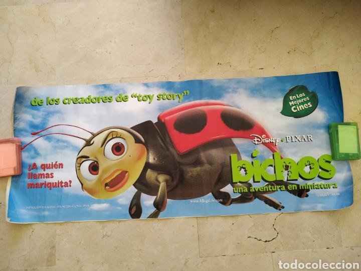 CARTEL ADHESIVO BICHOS APAISADO DISNEY 150X60 (Cine - Posters y Carteles - Infantil)