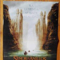 Cine: PÓSTER EL SEÑOR DE LOS ANILLOS - LA COMUNIDAD DEL ANILLO. Lote 158900534