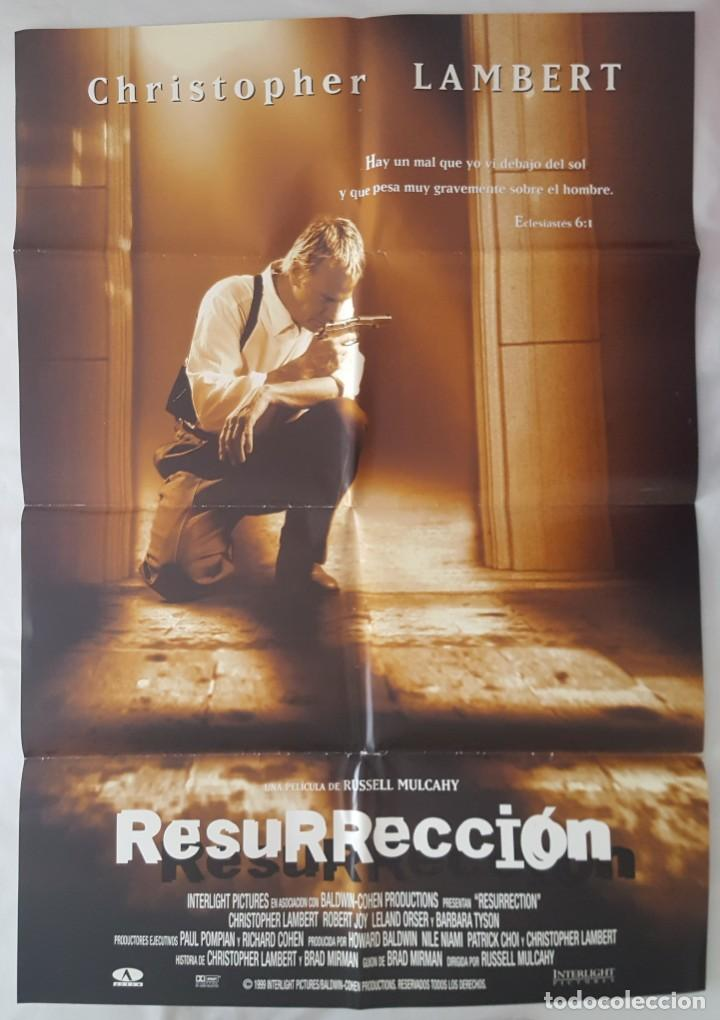 CARTEL DE CINE / RESURRECCION / 1999 / 70X100 (Cine - Posters y Carteles - Suspense)