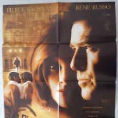 Cine: CARTEL DE CINE / EL SECRETO DE THOMAS CROWN / 1999 / 70X100. Lote 159104646