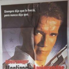 Cine: CARTEL DE CINE / MENTIRAS ARRIESGADAS / 1994 / 70X100. Lote 159110762