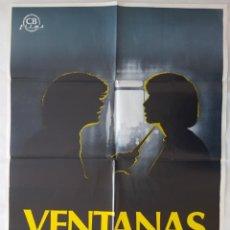Cine: CARTEL DE CINE / VENTANAS / 1980 / 70X100. Lote 159157694