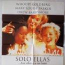 Cine: CARTEL DE CINE / SOLO ELLAS (LOS CHICOS A UN LADO) / 1995 / 70X100. Lote 159231850