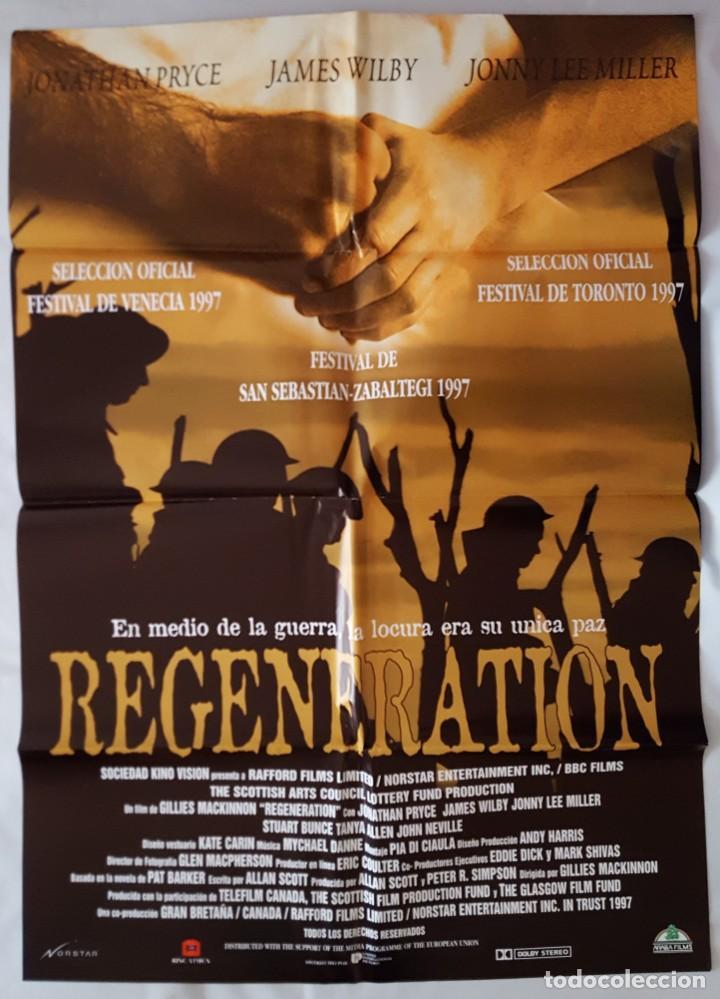 CARTEL DE CINE / REGENERATION / 1997 / 70X100 (Cine - Posters y Carteles - Bélicas)