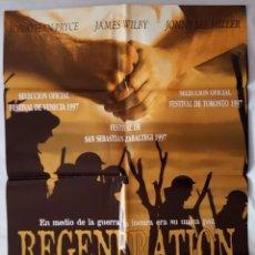 Cine: CARTEL DE CINE / REGENERATION / 1997 / 70X100. Lote 159236942